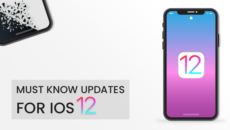 Must know iOS 12 updates for App owners