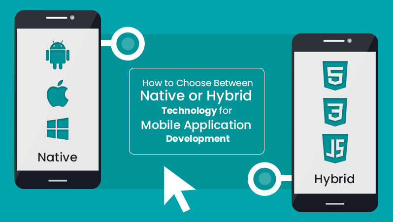 How to choose between native and Hybrid technology for your mobile app development