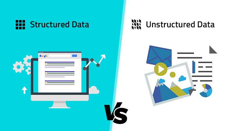 Structured Datavs.Unstructured Data and significance of both